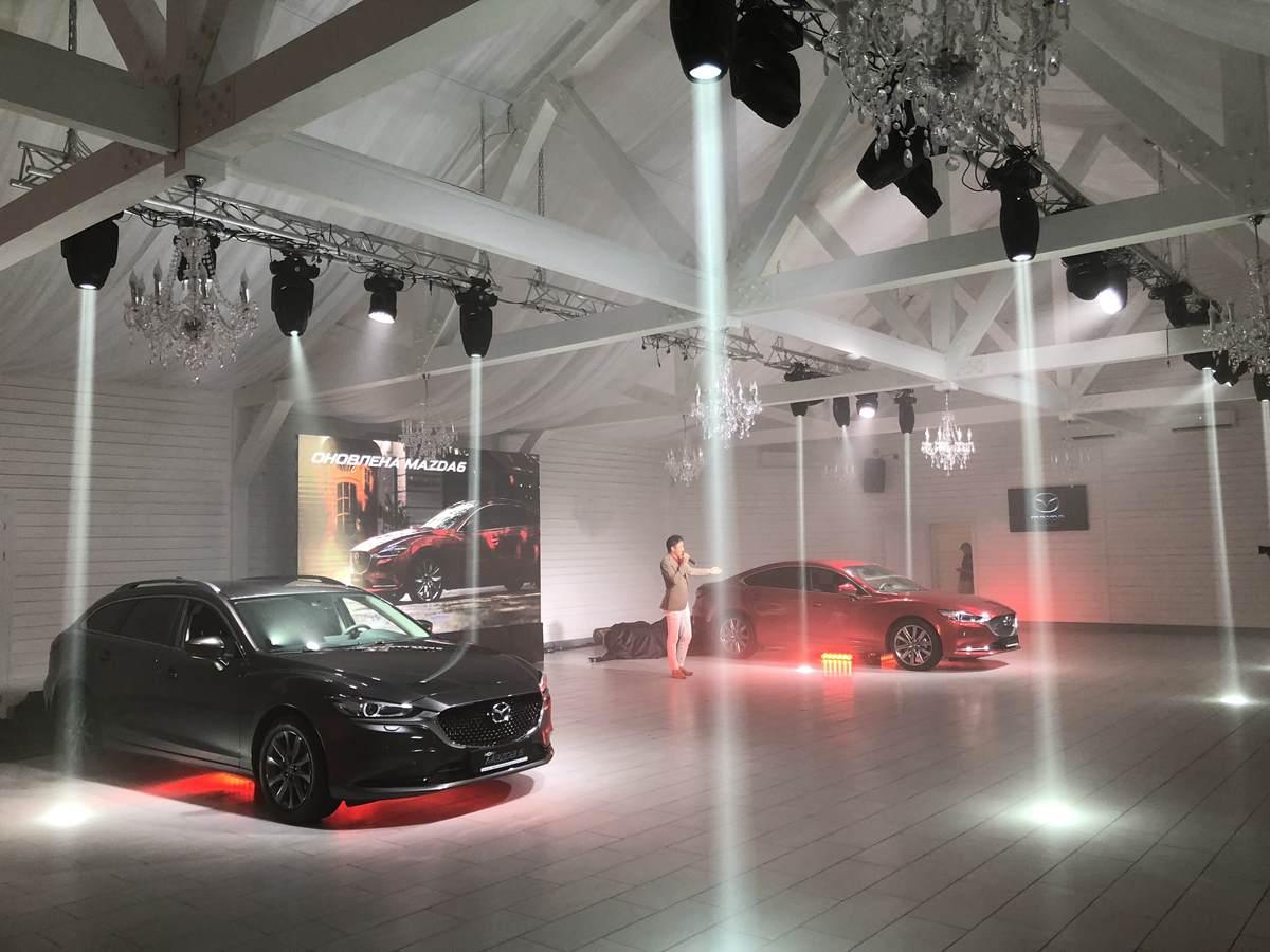 The Grand Place  Презентація легкового флагмана Mazda 6