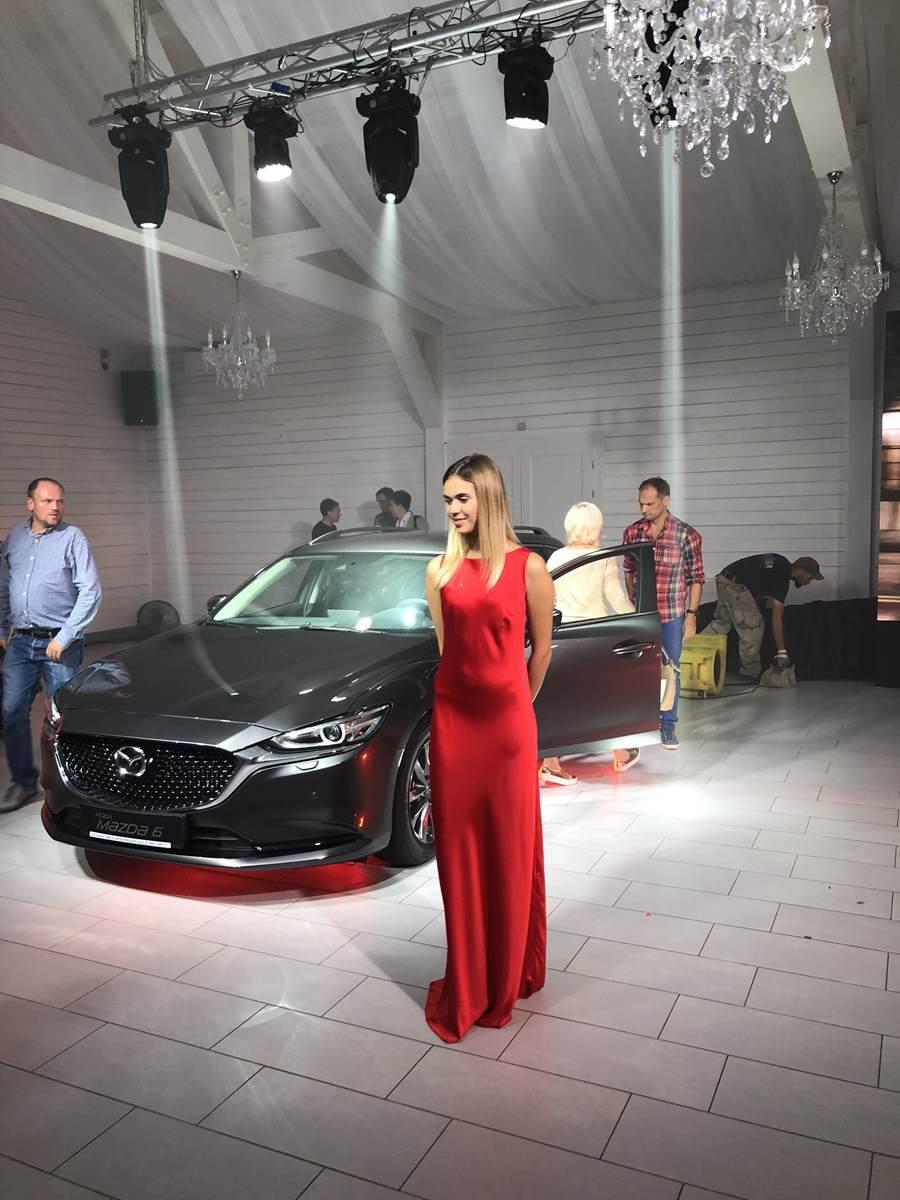 The Grand Place Презентация легкового флагмана Mazda 6